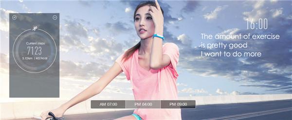 wholesale Original Xiaomi Mi Band 1S Smart Heart Rate Bluetooth 4.0 Watch