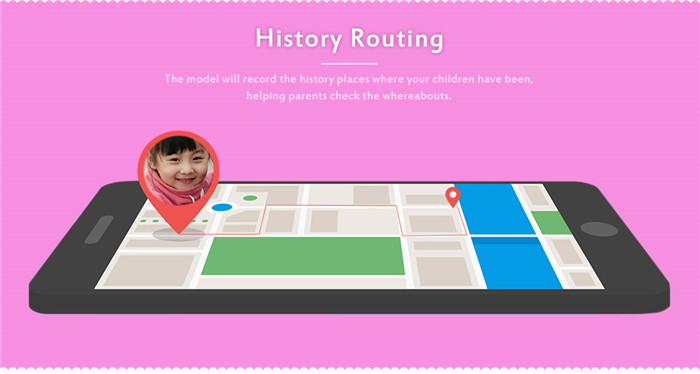 Y21 Children LCD Display GPS SOS Smart Watch Telephone