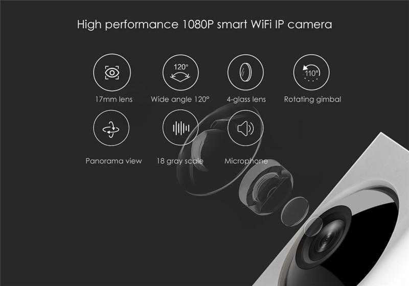 Xiaomi DF3 dafang 1080P Smart Monitor Camera 120 Degree