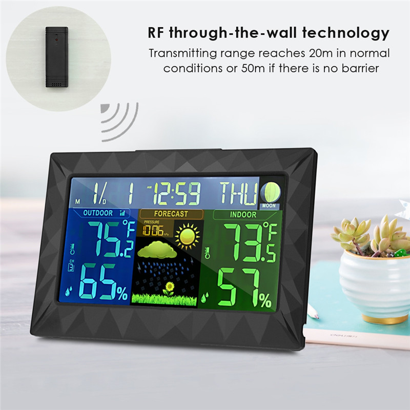 TS - Y01 Weather Station Monitor