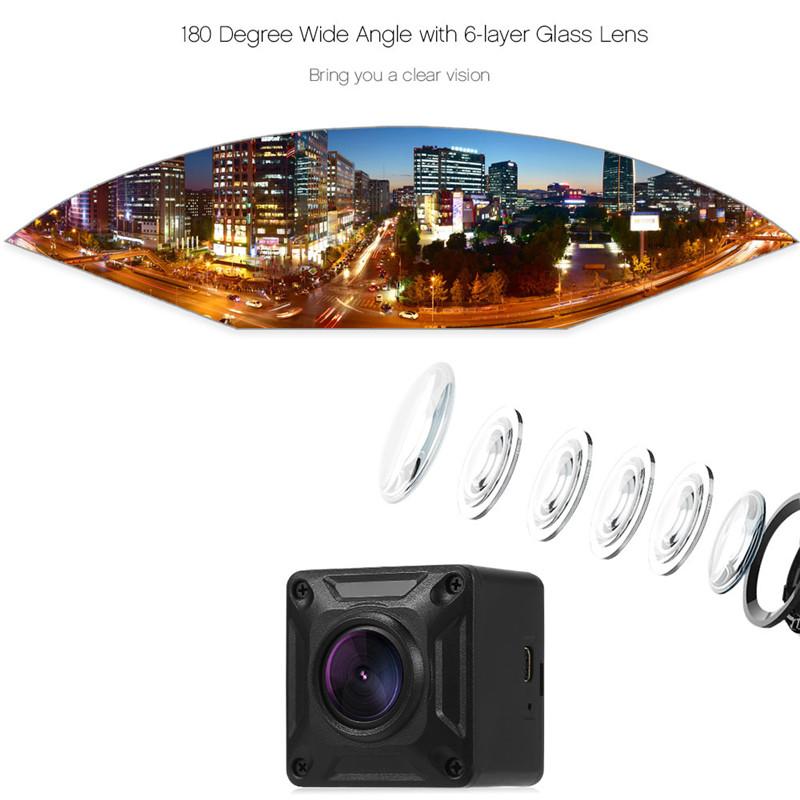 YINGCUN X2 mini portable 180 degree panoramic camera