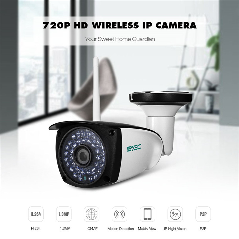 SV3C SV - B06W - 720P WiFi Camera Outdoor Security Surveillance CCTV