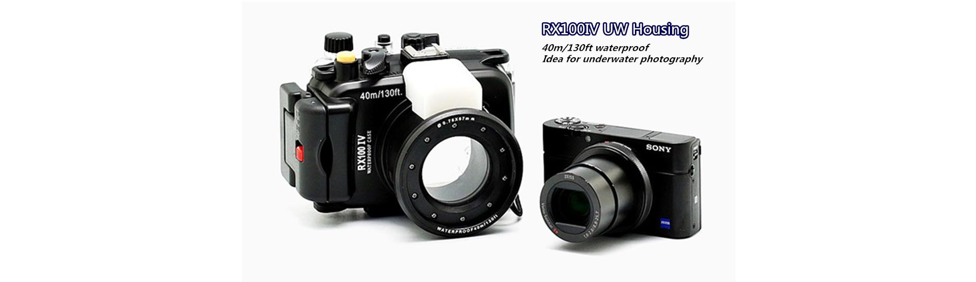 RX100IV underwater housing for scuba