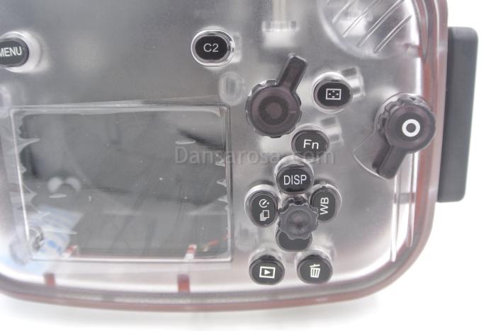 Sony A7/A7R waterproof case keys