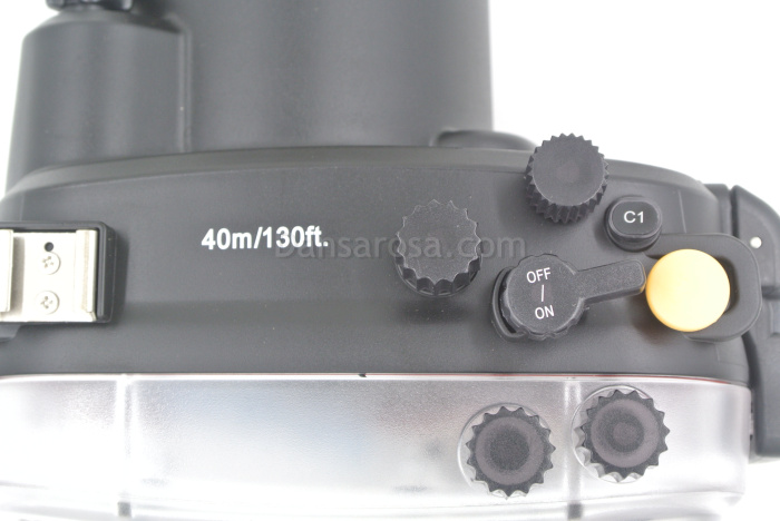 Sony A7/A7R waterproof case parts