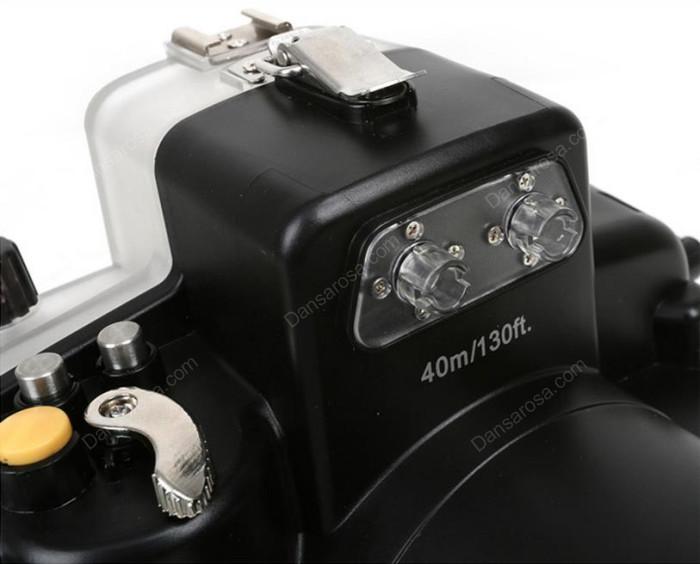 Meikon Nikon D7100 waterproof case