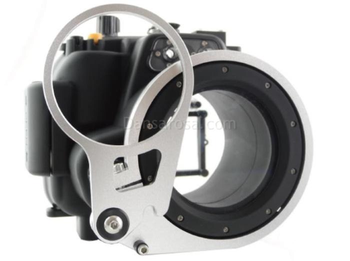 Canon 600D T3i waterproof case Fisheye fisheye adaptor