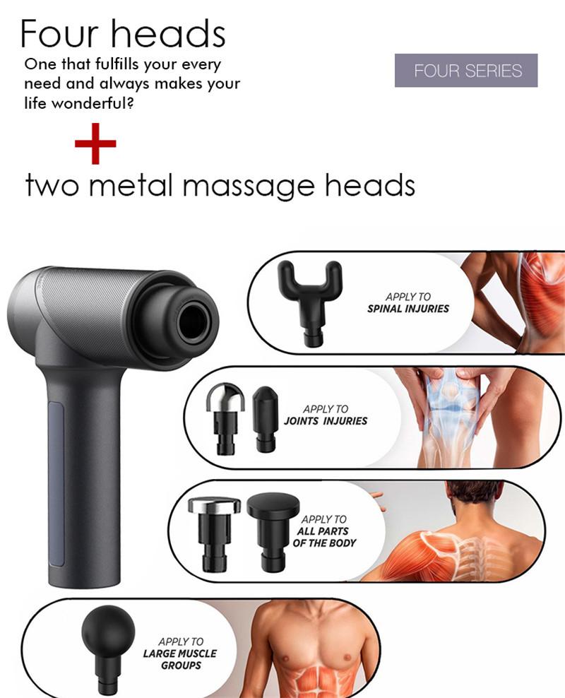 Portable Massage Gun Muscle Massager