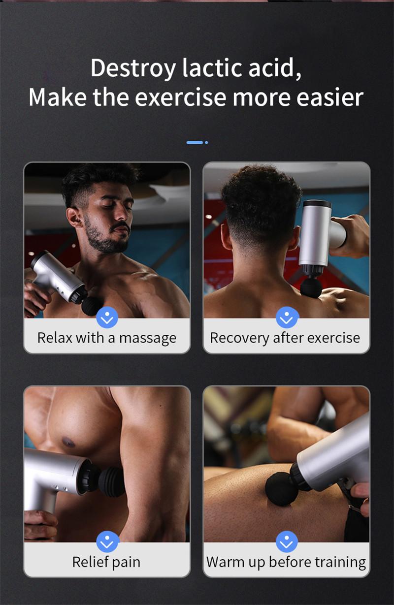 portable massage gun muscle massage