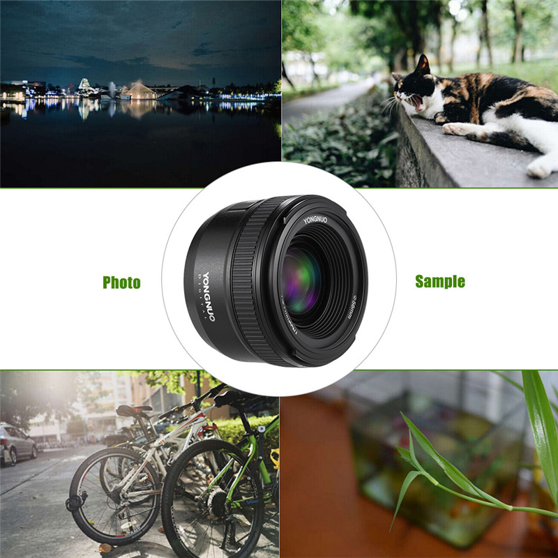 Yongnuo 35mm F2.0 lens wide angle auto focus lens for nikon