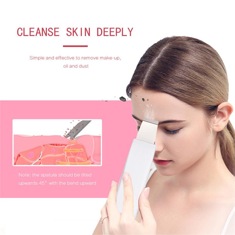 K-SKIN KD8070 electric ultrasonic facial skin scrubber