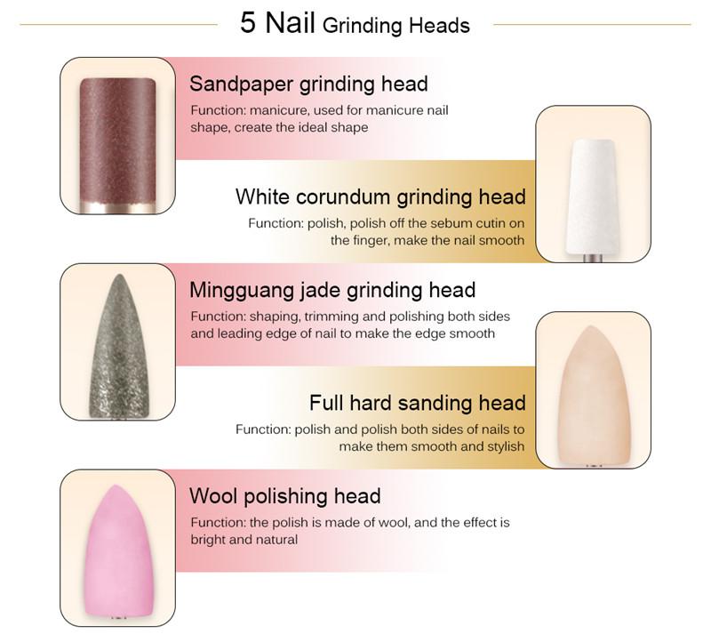 K_SKIN KD368 electric manicure drills nail polishing machine