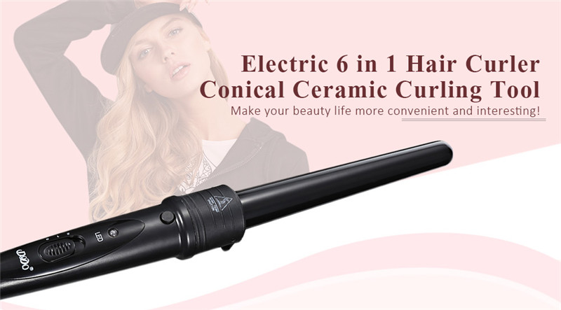 DODO electric hair curling iron curler roller