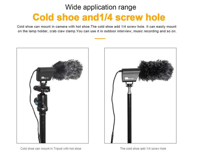 PIXEL MC650 on-camera microphone kit shotgun video mic