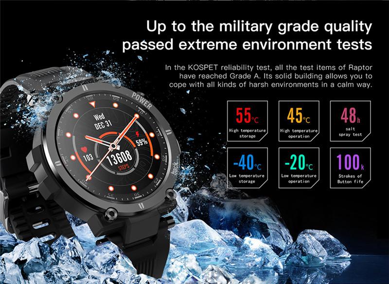 KOSPET Raptor Bluetooth Full Touch Smart Watches