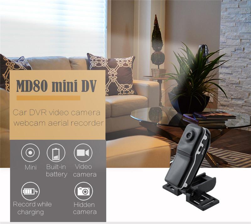 MD80 Mini DV DVR Video Camera Camcorder Sport Bike Recorder