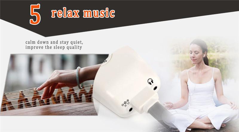 Magnetic Far-infrared MP3 Dispel Eye Bags Eye Care Massager