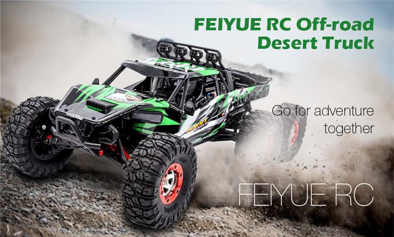FEIYUE FY06 1:12 2.4GHz 6WD RC Off-road Desert Truck