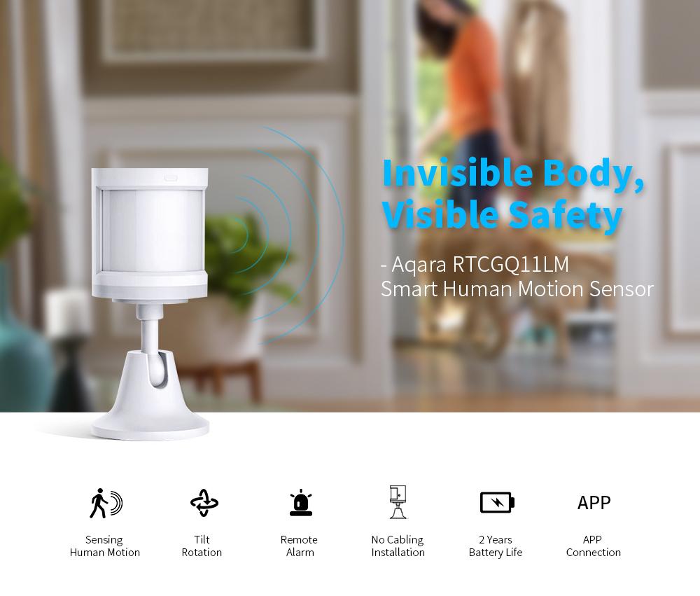 Aqara RTCGQ11LM Smart Home Human Motion Sensor