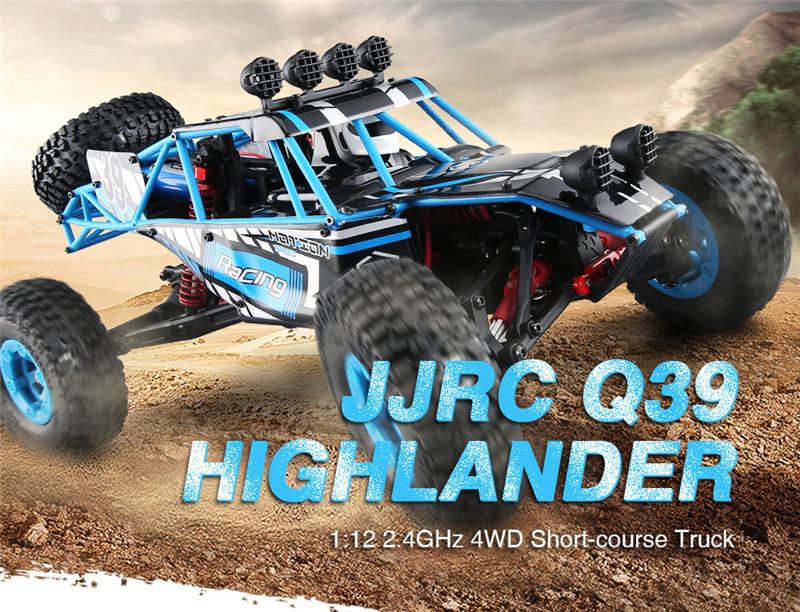 JJRC Q39 HIGHLANDER 1:12 4WD RC Desert Truck RTR