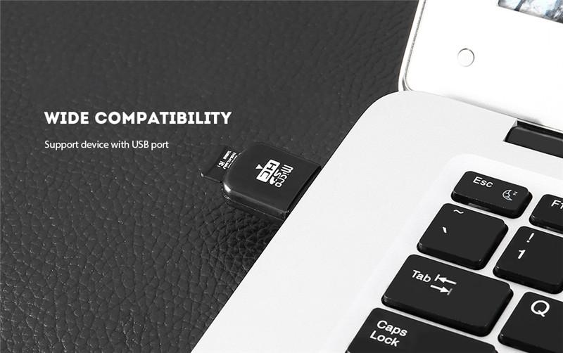 Mini Micro SD / TF Card Reader USB2.0