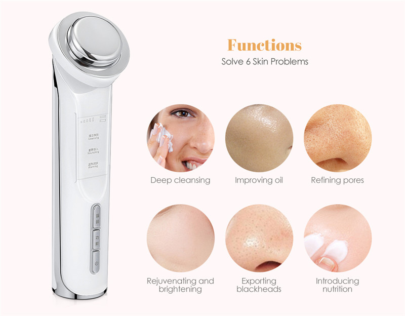 K_SKIN KD9960 Ion Beauty Face Cleansing Massager