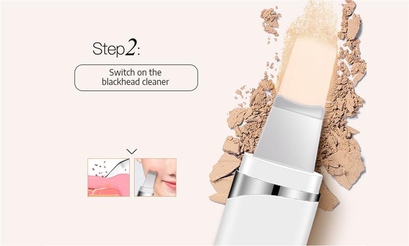 K_SKIN KD8023 Ultrasonic Blackhead Acne Removal Pore Cleaner