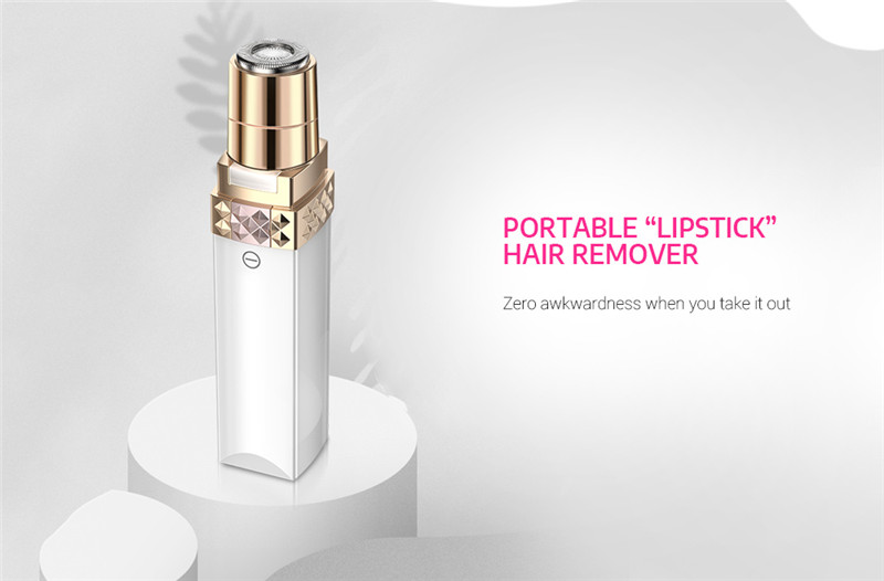 K_SKIN KD505 Painless Facial Body Hair Remover Trimmer