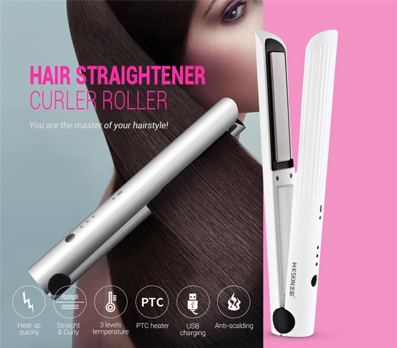 K_SKIN KD - 386 Hair Curler Straightener