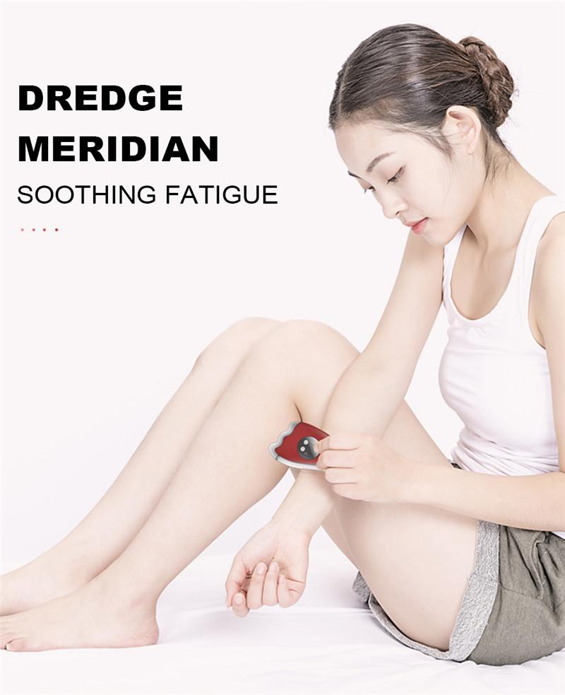 K_SKIN KD817 Dredge Meridian Soothing Fatigue Scraping Plate