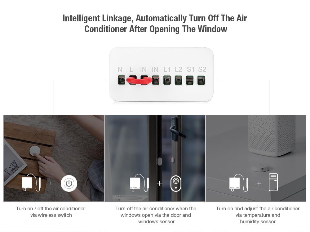 Aqara two-way module smart setting APP control