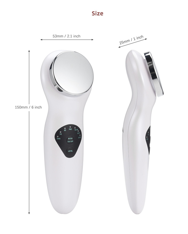 BC - 1901 EMS Ultrasonic Electric Facial Massager