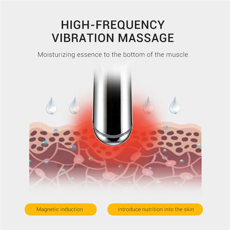 ZY - 003 Charging Ion Heating Vibration Electric Eye Massage Instrument