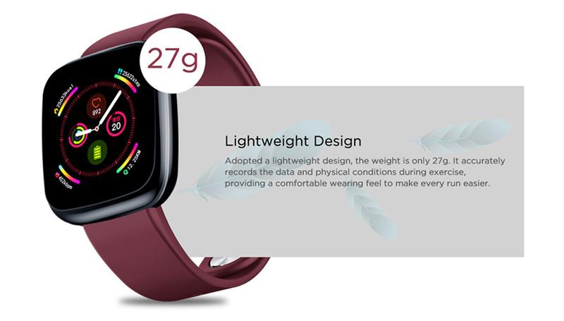 Zeblaze crystal 3 heart rate blood pressure oxygen monitor bluetooth smart watch