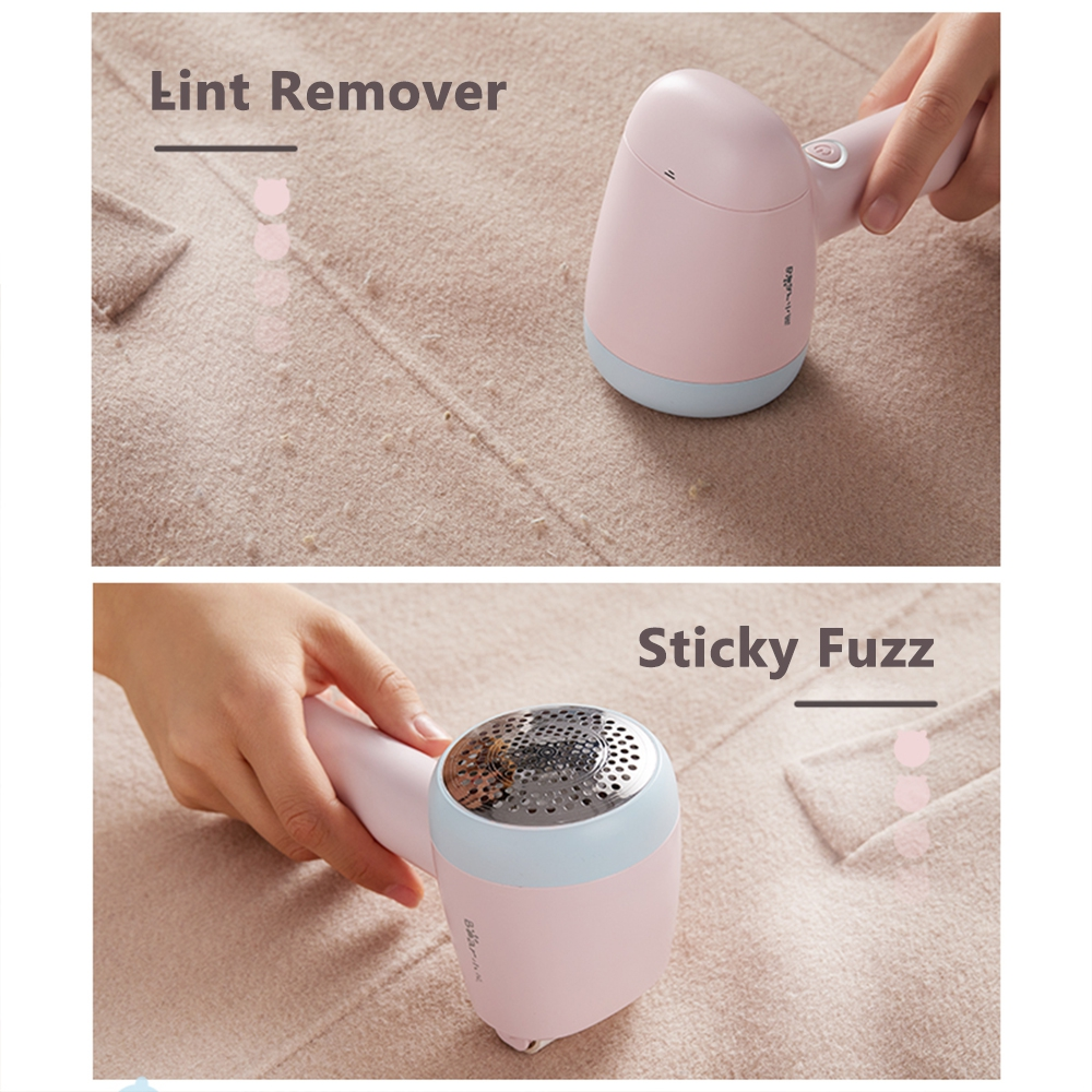 Bear Rechargeable Fabric Shaver Defuzzer Electric Lint Remover