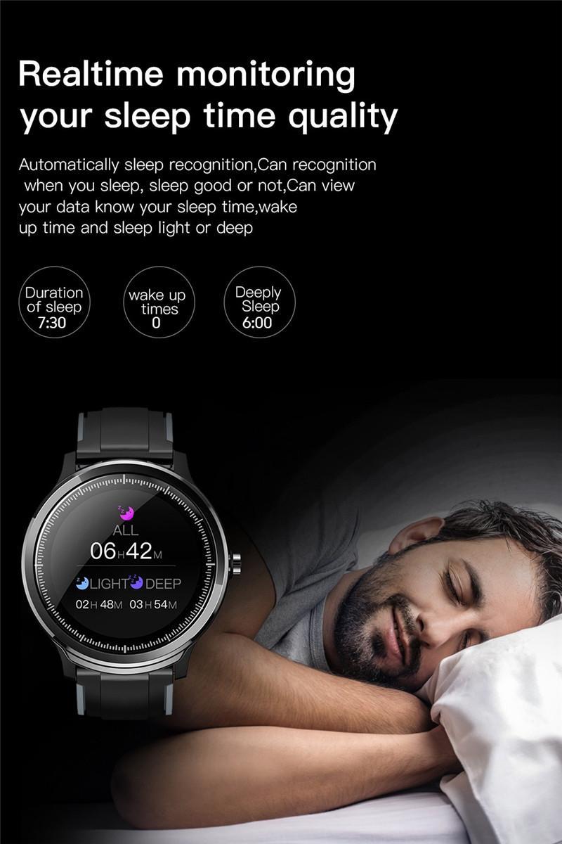 Kospet probe 1.3 inch smart sports watch fitness tracker health monitor bluetooth smartwatch