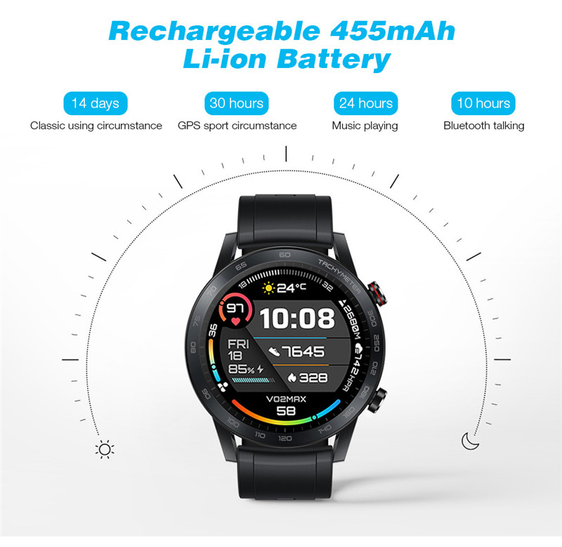 ​Honor magic watch 2 rechargeable AMOLED screen sport smart watch