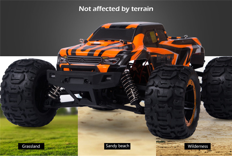 SG1601 1/16 2.4G Brushed RC Car Big Foot High Speed Vehicle Models