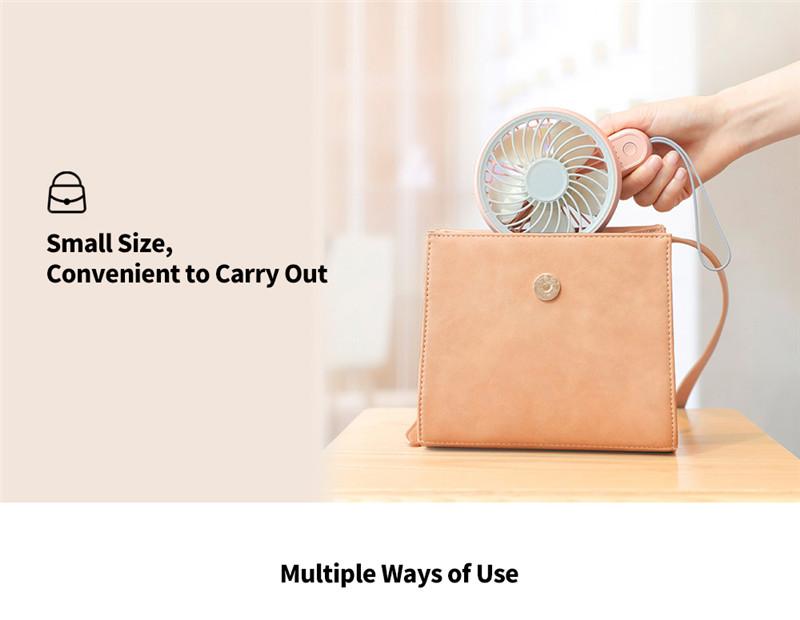Edon E806 portable handheld small folded fan