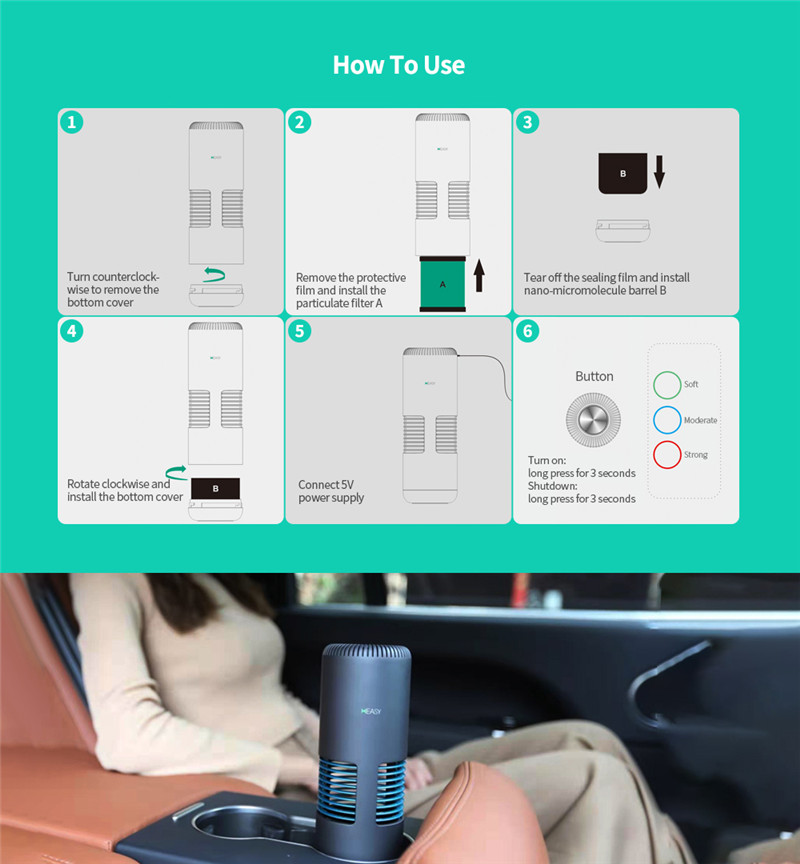 heasy K9 medical grade air purifier