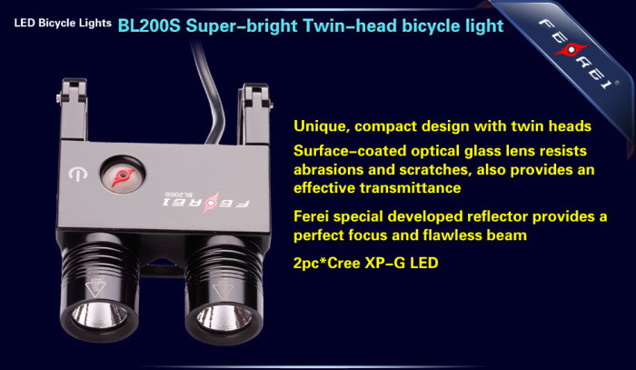 BL200S 700 LM led bicycle light