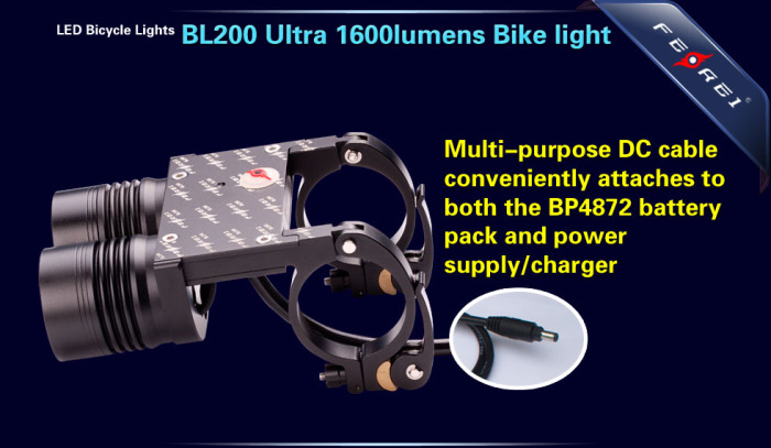 BL200 1600LM led bicycle light