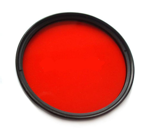 Red filter underwater housing