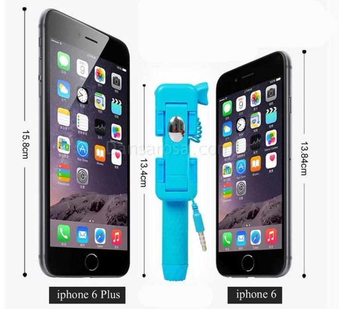 AZ-07 Super Mini Selfie Stick For Iphone Samsung Gopro