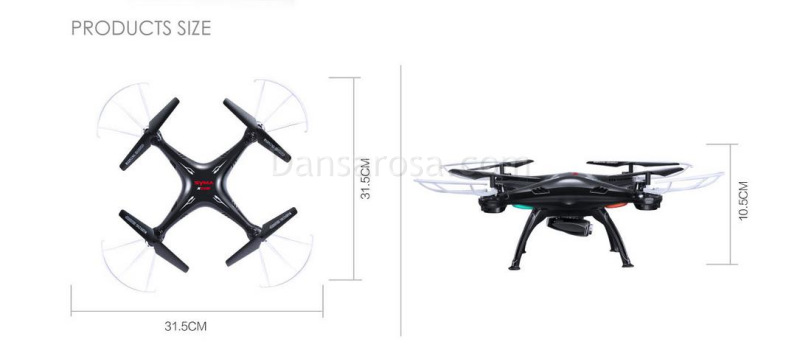 SYMA X5SW RC quadcopter FPV