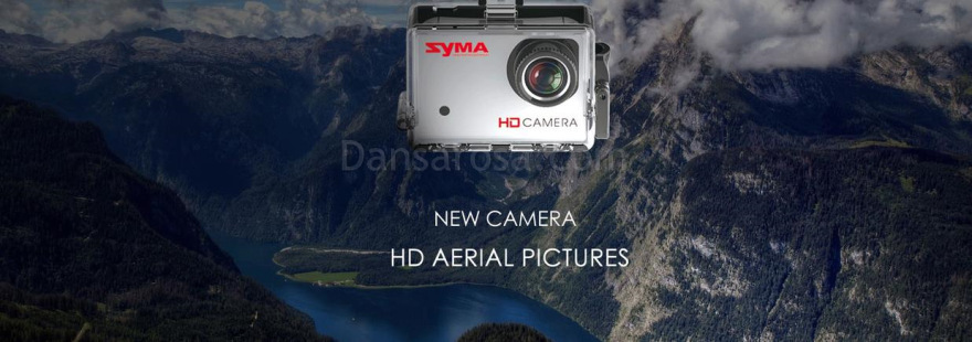 SYMA X8G RC quadcopter HD Camera