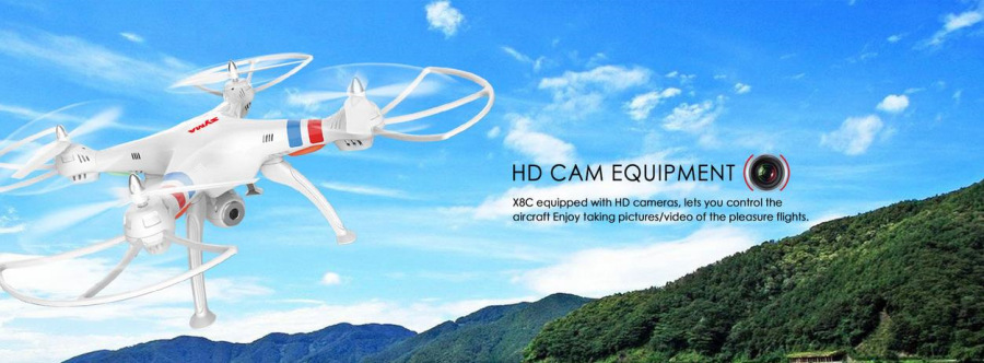 SYMA X8C RC quadcopter HD Camera