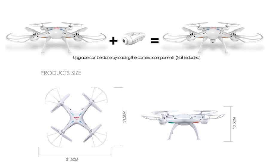 SYMA X5SC Explorers FPV RC quadcopter