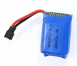 Syma X11 RC Quadcopter battery 200mAh
