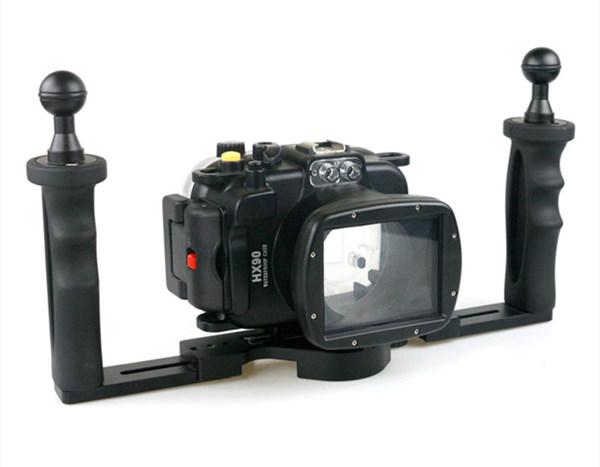 Sony HX90 waterproof case aluminum tray set double handles